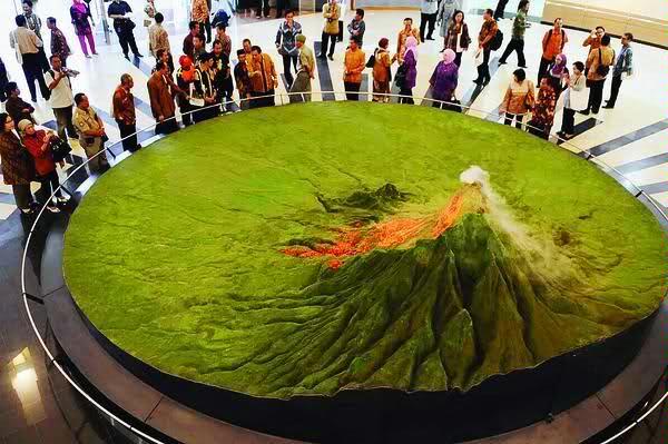 wisata edukasi jogja museum gunung merapi