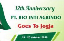 PT. BIA I 12th Anniversary 9-10 Oktober 2018