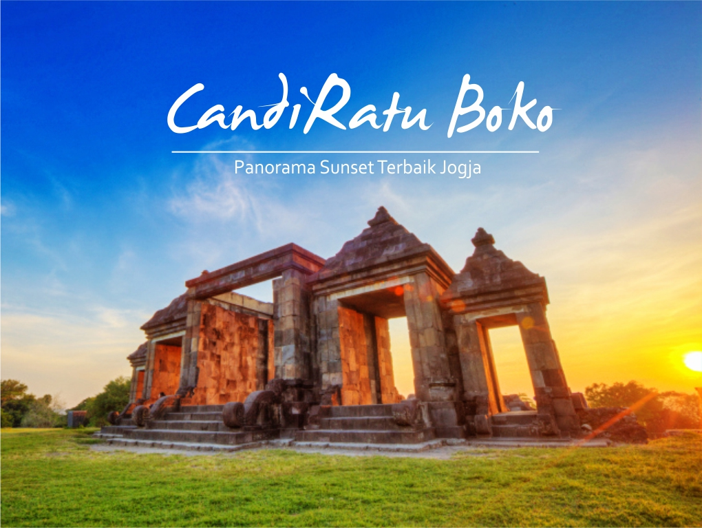 sunset ratu boko