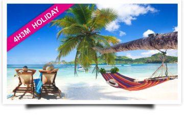 """Paket 4H3M """"Holiday"""""""